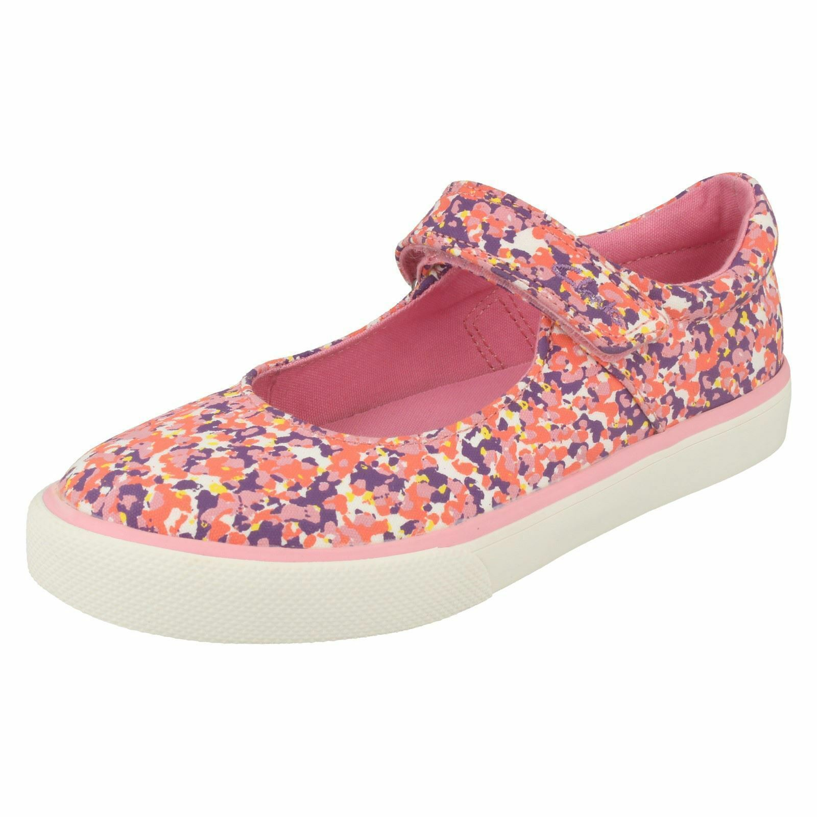 Where To Buy Clarks Brillprize Inf Girls LowTop Sneakersa