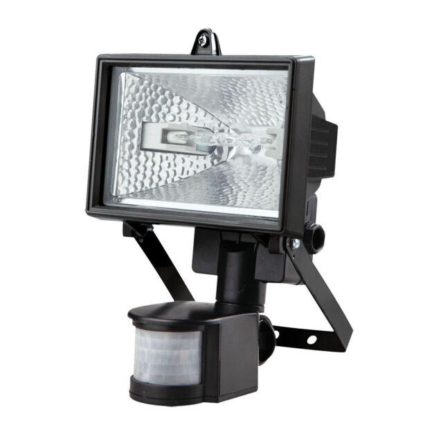 2 x 400w watt motion pir sensor security floodlight outdoor halogen 500w halogen floodlight security light pir motion sensor 500 watt flood light aloadofball Gallery