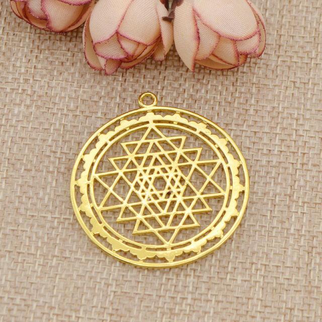 1pc sri yantra sacred geometry pendant diy necklace prosperity 1pc sri yantra sacred geometry pendant diy necklace prosperity mandala talisman aloadofball Gallery