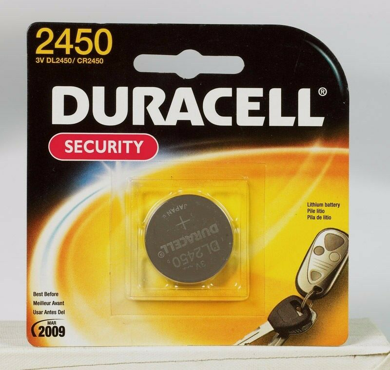 duracell products dl2450bpk no 2450 button cell lithium battery ebay rh ebay com