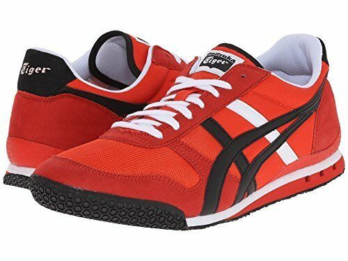 Onitsuka Tiger Asics Ultimate 81 D54hq-2190 Fiery Red Black Casual Shoes  10.5   eBay