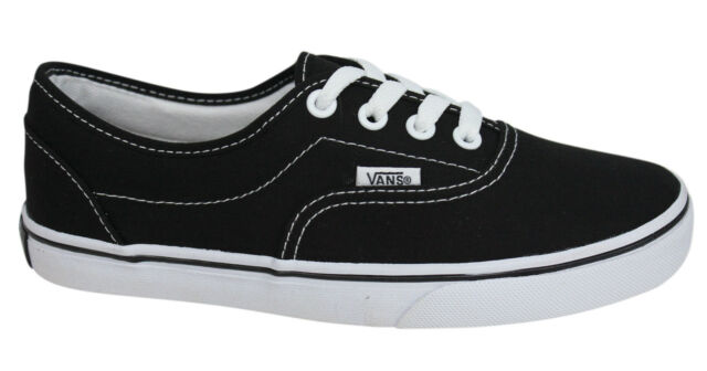 Vans Off The Wall LPE Black White Lace Up Unisex Canvas Plimsolls