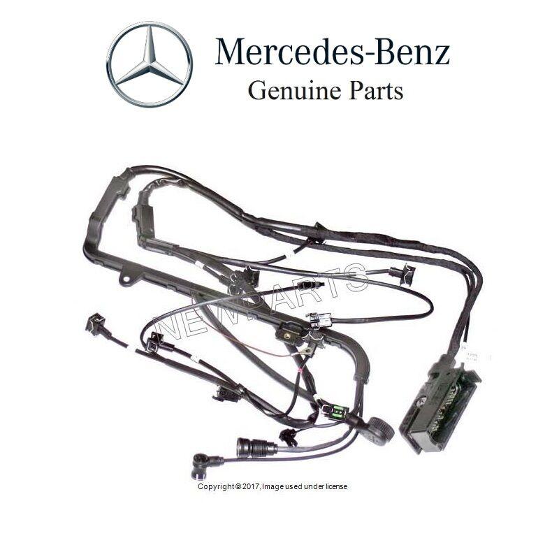 mercedes r129 500sl sl500 93 94 95 engine wiring harness 1295407705 rh ebay com mercedes r129 wiring diagram mercedes r129 alarm wiring diagram
