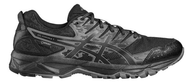 Asics Gel Sonoma 3 Goretex T727N9099 nero scarpe basse