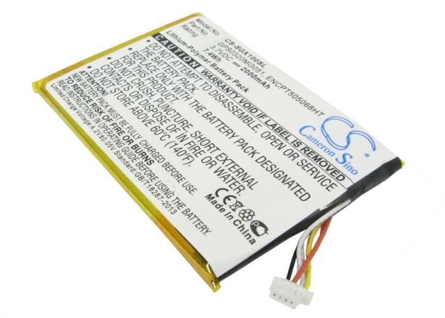 Battery suitable for SkyGolf SkyCaddie SGXw, SkyCaddie SGX-W, SkyCaddie SGX