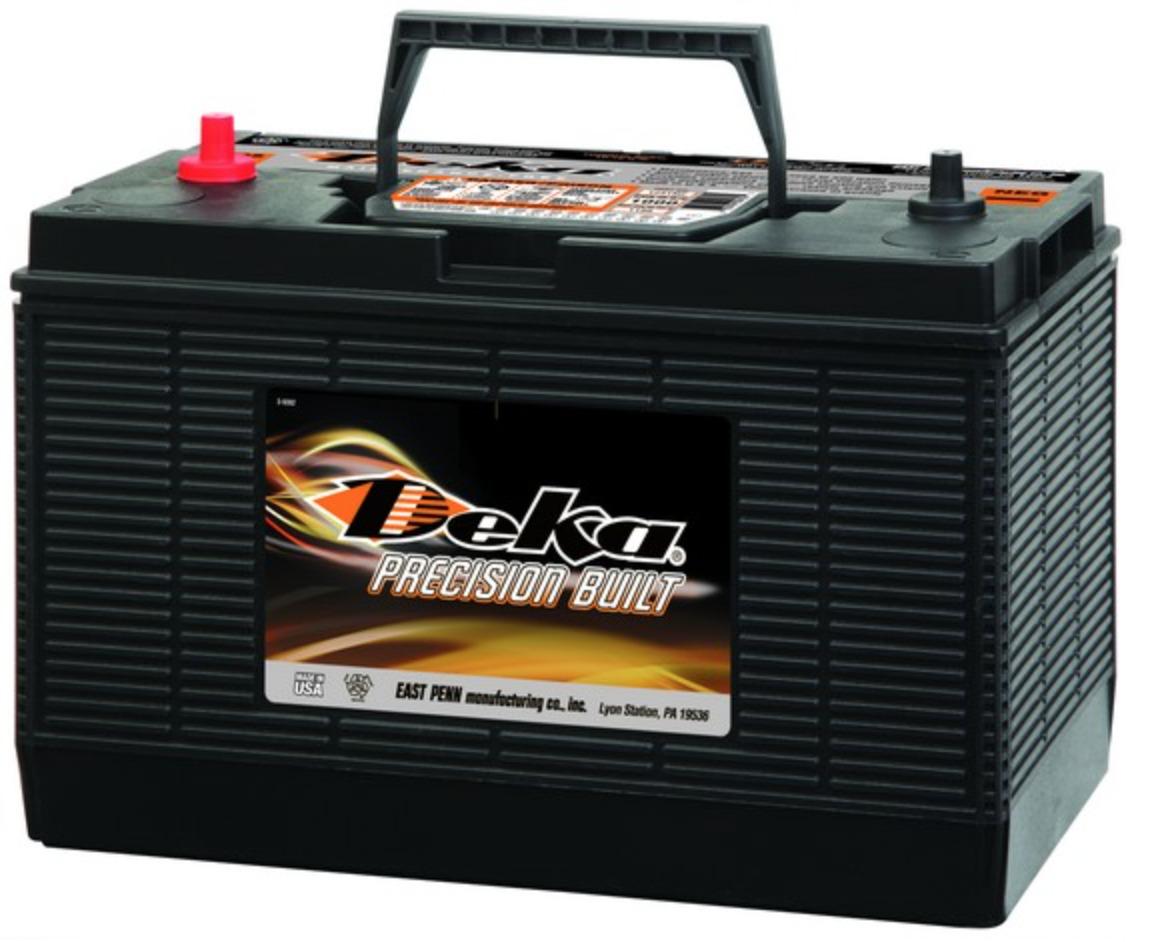 Battery 12 Volt Commercial Service Deka East Penn 1231mf Ebay