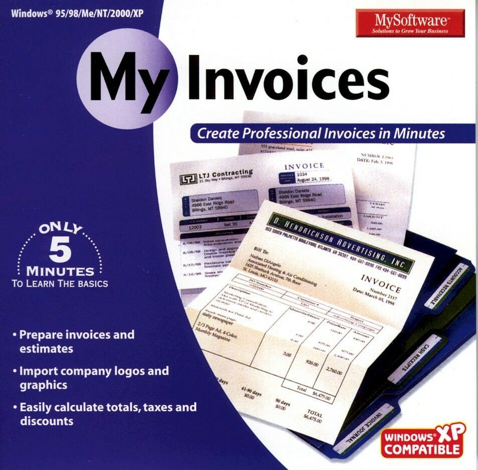 mysoftware my invoices ebay