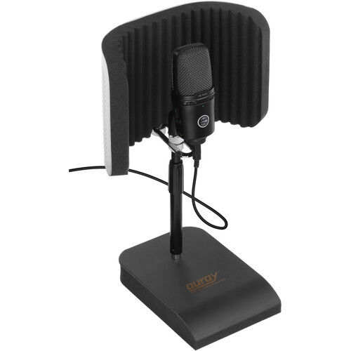 auray rfdt 128 desktop reflection filter and mic stand sound audio device ebay. Black Bedroom Furniture Sets. Home Design Ideas
