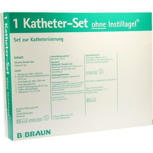 KATHETER Set ohne Instillagel 1P Kombipackung PZN 3915289