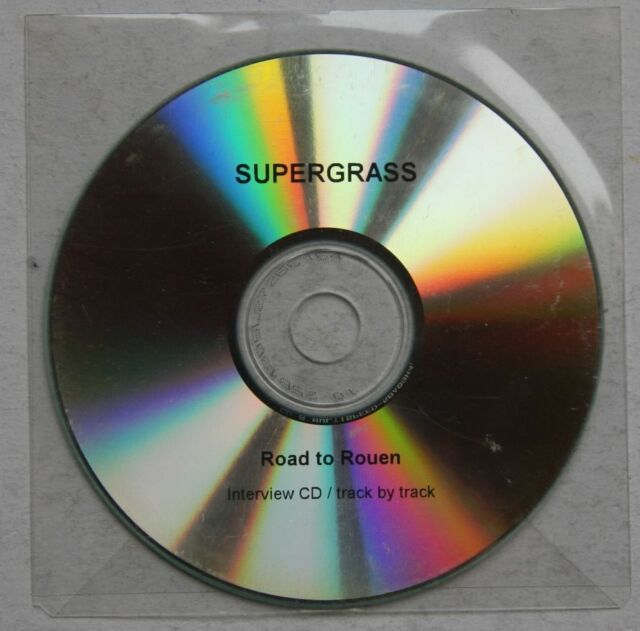 Supergrass Road To Rouen Interview CD Track By Track Rare