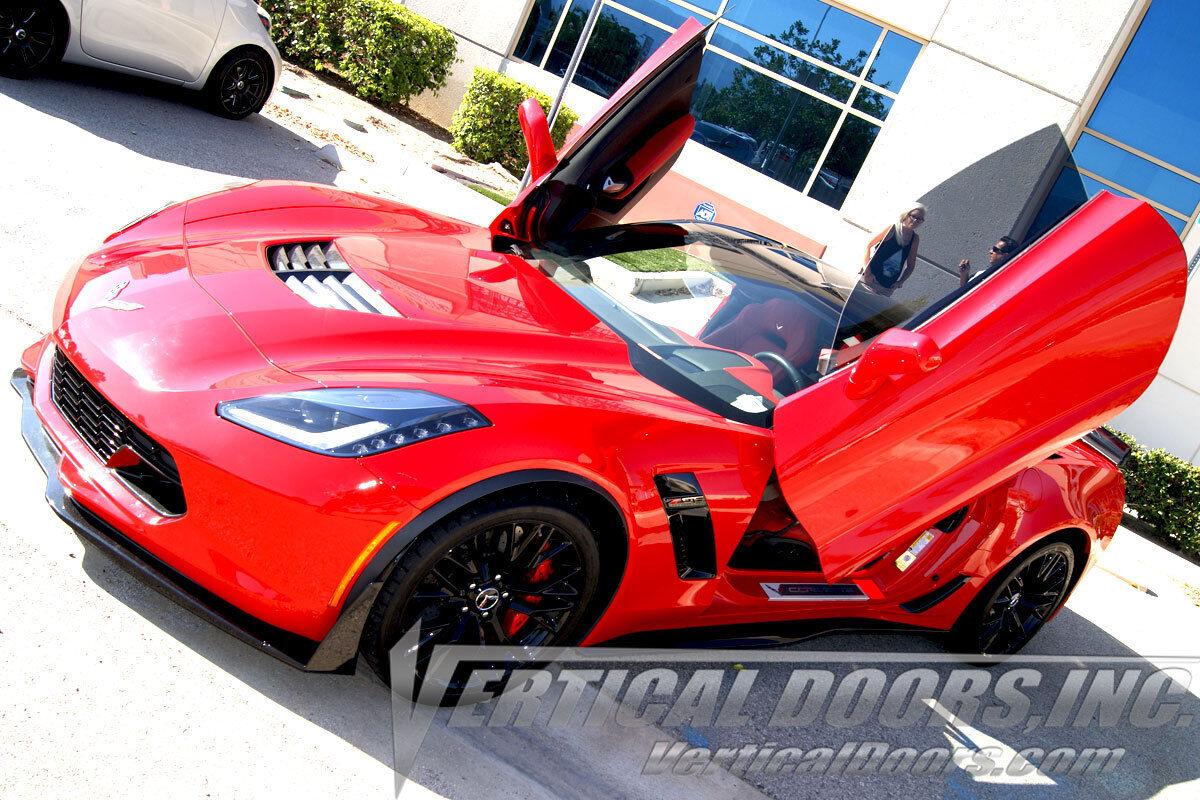 Picture 1 of 12 ... & Chevy Corvette C7 STINGRAY Vertical Doors Inc Kit lambo doors ... pezcame.com