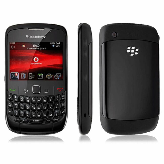 BlackBerry Curve 8520 - Black (Unlocked) Smartphone Grade B With Warranty