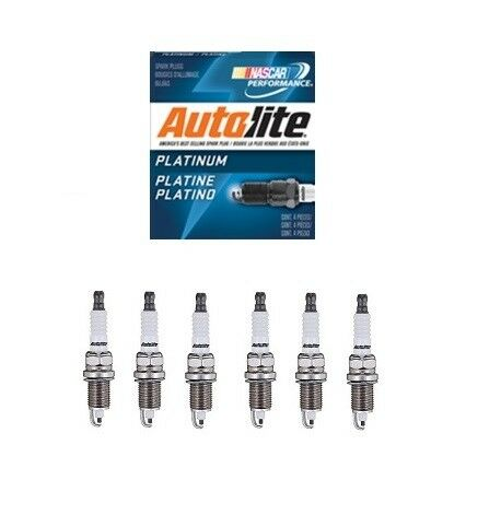 6 x SPARK PLUG PLATINUM AP5405 - CHRYSLER 300C 05-10 / DODGE JOURNEY 09-10 3.5L