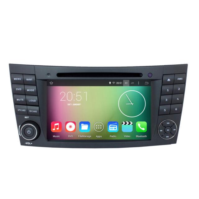 Quad Core Android 51 Radio Gps Dvd For Mercedes Benz E350 E320 E500 Rhebay: 2007 Mercedes E350 Radio Gps At Elf-jo.com