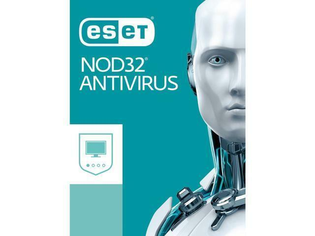 ESET NOD32 Antivirus 2018 for 5 PCs / 1 Year