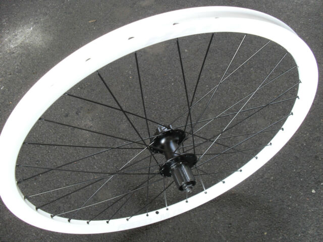Halo T2 Rear Wheel 26 Shimano Disc Hub White Mountain Bike 8