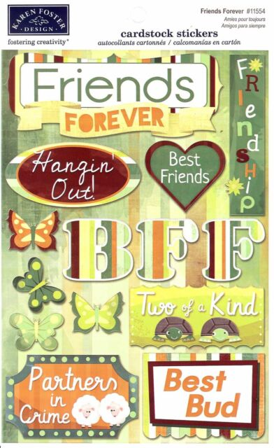 Karen Foster Design Friends Forever Best Friendship Cardstock