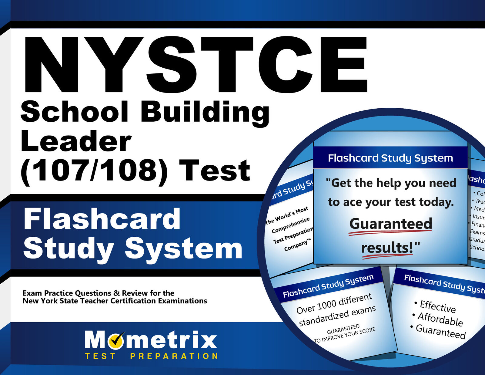 Nystce School Building Leader 100101 Test Flashcard Study System
