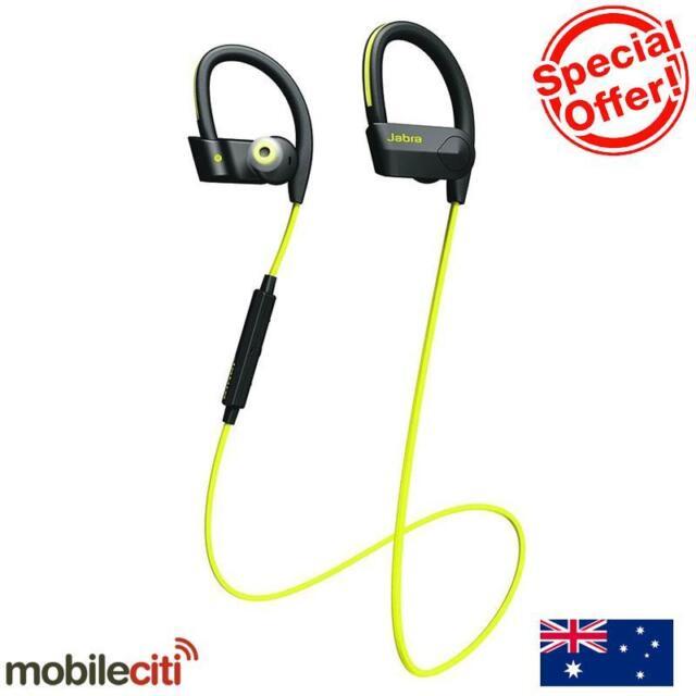 Jabra Sport Pace Bluetooth Wireless Handset - Yellow