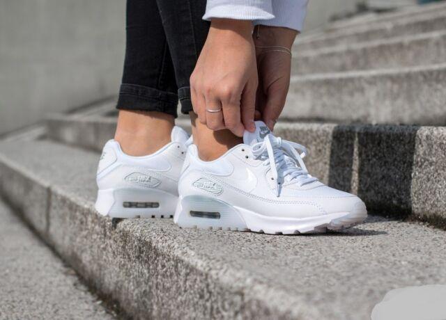 nike air max 90 ultra essential womens white