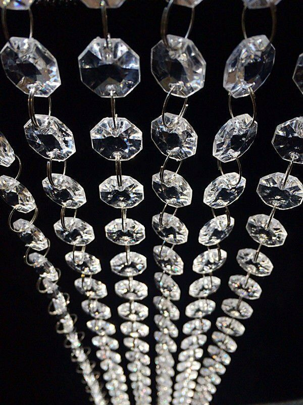 30ft fixture ceiling light acrylic crystal pendant chandeliers picture 1 of 1 mozeypictures Gallery