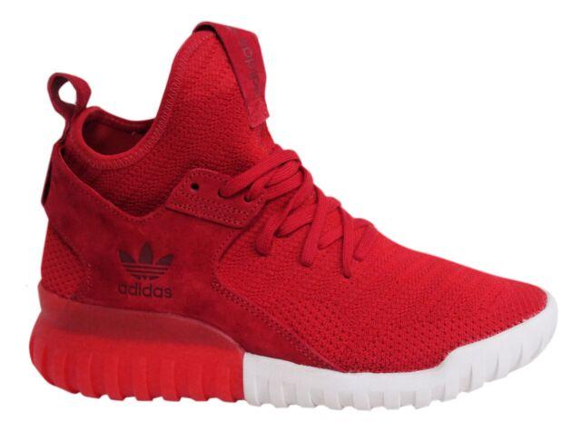 adidas tubular rosse