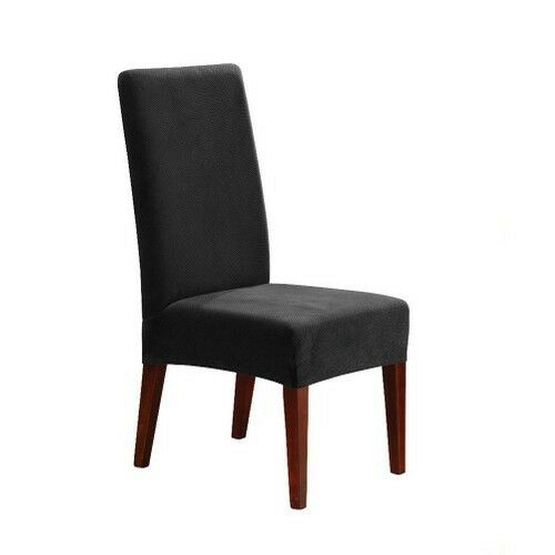 Sure Fit Stretch Pique Short Dining Room Chair Slipcover | eBay