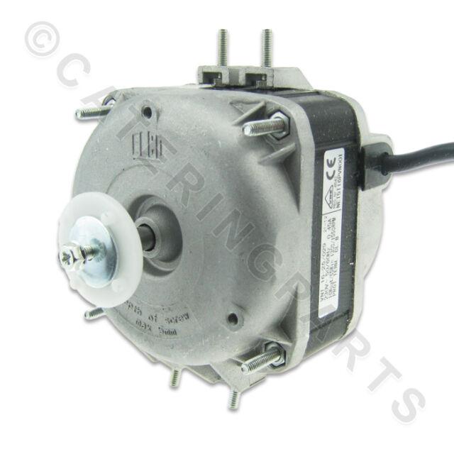 Elco 16w 16 watt 230v condenser fan motor for fridge for Walk in freezer motor