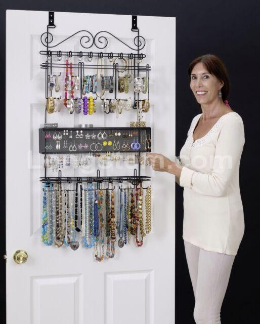 Marvelous Over The Door Jewelry Organizer Part - 2: Longstem #6100 Over The Door Jewelry Organizer Valet ~ Patented ~ Rated  Best ~