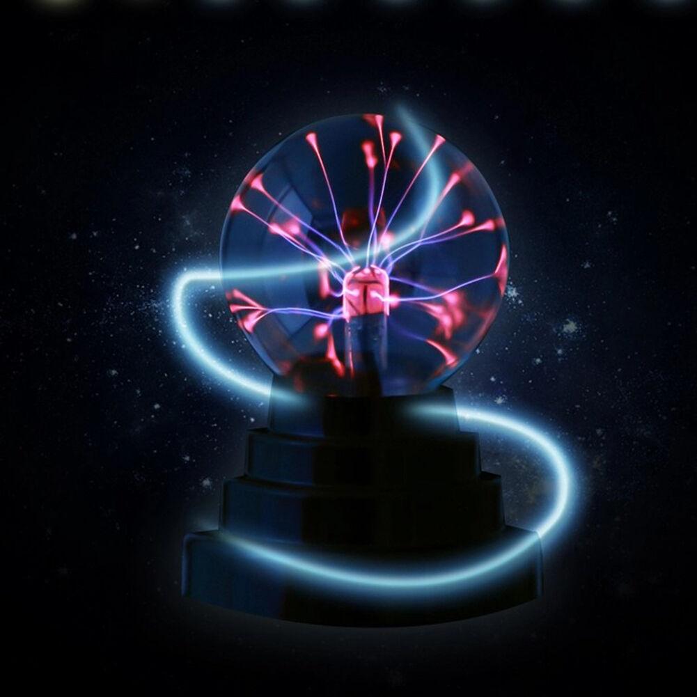 USB Magic Plasma Ball Sphere Lightning Disco Party Lamp Crystal ...
