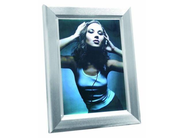 Reklamewand DIN A3 beleuchtet, Aluminium matt
