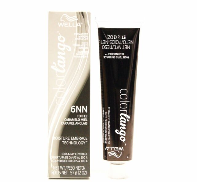 Wella Color Tango Permanent Masque Hair Color 2 Oz 6nn Toffee Ebay