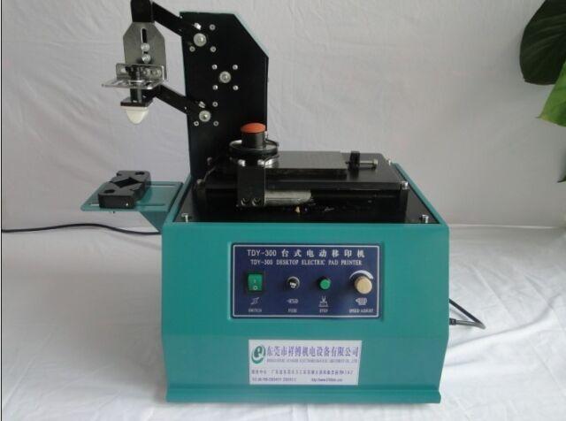 tdy 300c pad printer printing machine logo square plate trademarks