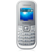 Samsung Guru GT E1200T  White  Mobile Phone