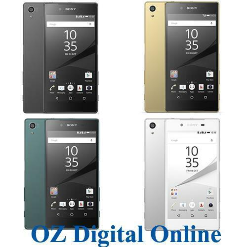 "NEW Sony Xperia Z5 E6653 32GB 23MP 5.2"" 4G LTE Unlocked Phone 1 Yr Au Wty"