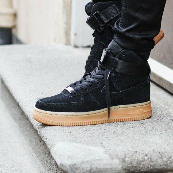 nike air force one suede high