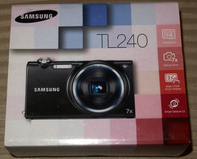 samsung dualview tl240 14 0mp digital camera gray ebay rh ebay com