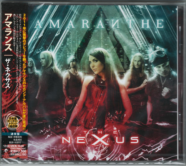 AMARANTHE-THE NEXUS-JAPAN CD BONUS TRACK E75