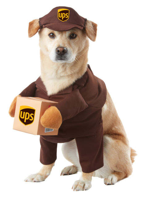 California Costumes UPS PAL Mail Delivery Animal Dog Halloween ...