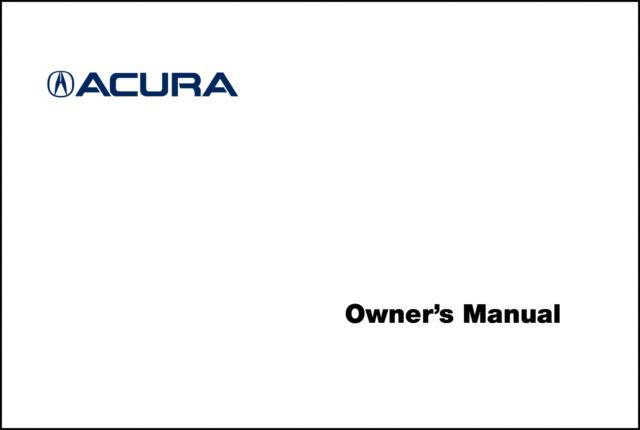 acura 2014 rdx navigation system owner manual 14 ebay rh ebay com 2008 RDX 2014 RDX Towing Capacity