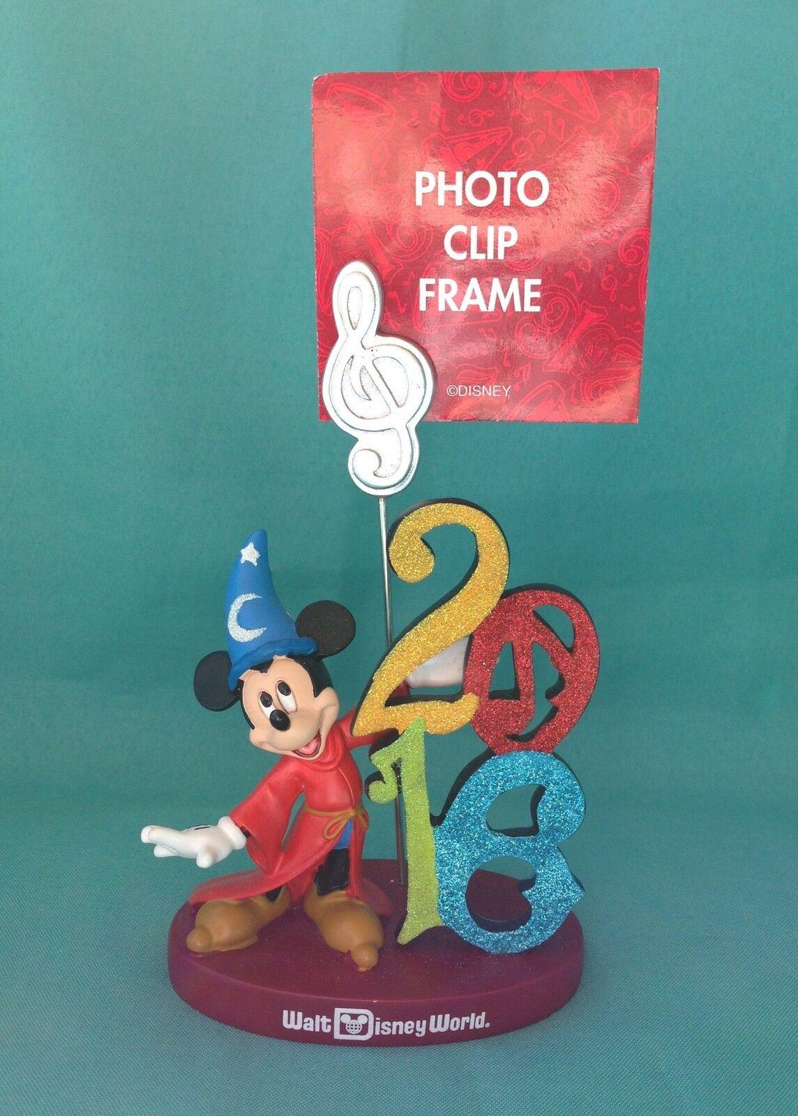 2016 Disney World Sorcerer Mickey Clip Photo Frame | eBay