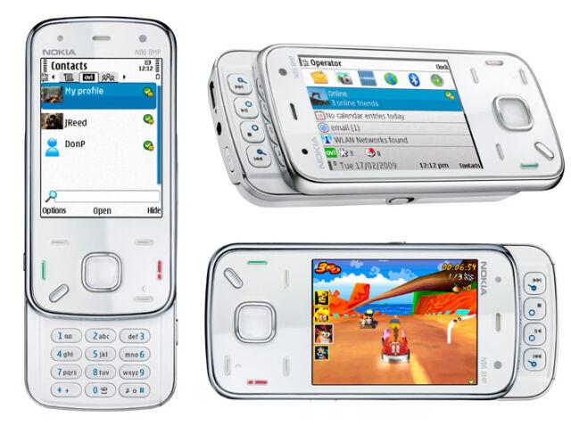 Nokia N86 8GB White (Ohne Simlock) Smartphone 3G 8MP ZEISS WLAN GPS Neuwertig