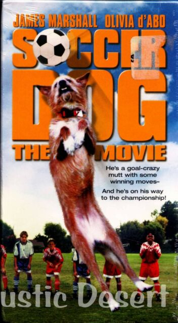 Soccer Dog The Movie (VHS, 1999) James Marshall, Olivia d'Abo (new, unopened)