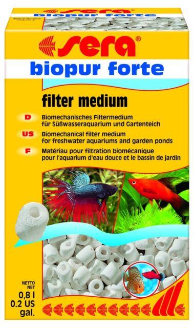 Sera Biopur Forte 800ml biologische und mechanische Filterung für Aquarien