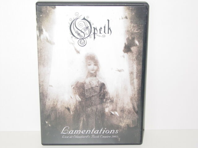 "*****DVD-OPETH""LAMENTATIONS-Live at Shepherd's Bush Empire 2003""-Sony BMG*****"