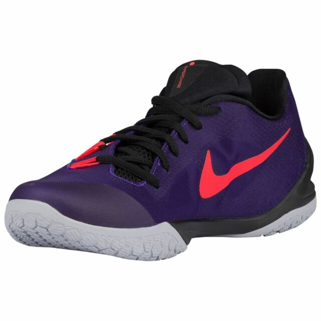 705363-560 Nike HyperChase 2015 Basketball Court Purple/Black/Crimson 8-11