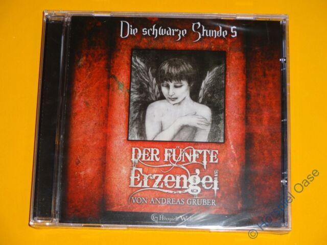*CD* Die schwarze Stunde 5 - Der fünfte Erzengel * Hörspiele Welt * NEU & OVP *