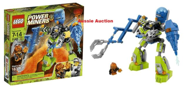 Lego Power Miners Magma Mech Original Instructions Only 8189 Ebay