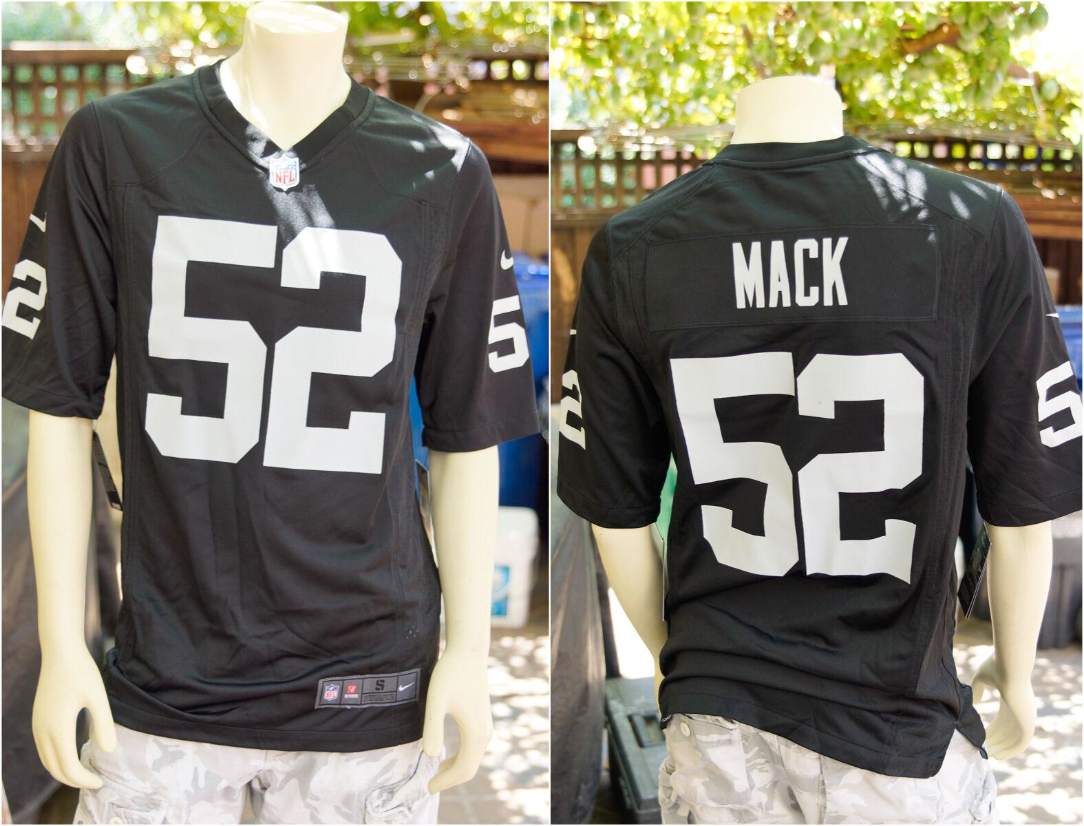 9a204927b34 khalil mack raiders jersey #52 Khalil Mack Nike Youth Jersey: White Limited  NFL Oakland Raiders Rush Nike8802153