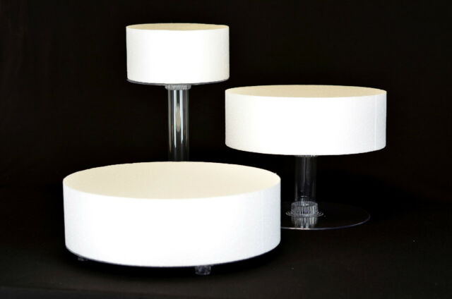 Three Tier Staggered Wedding Cake Stand